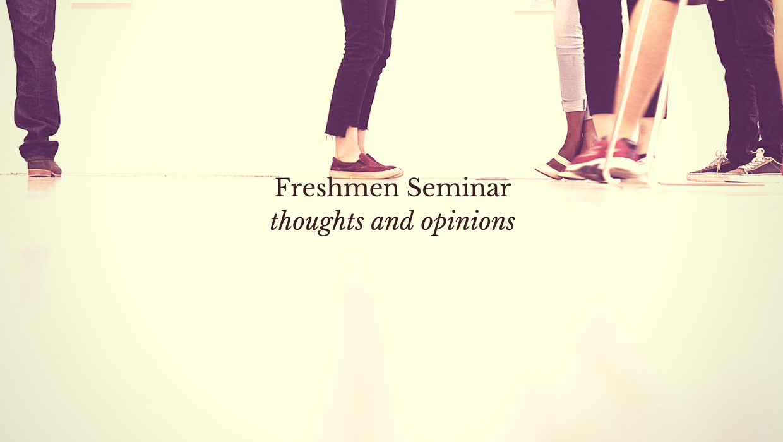 What Is Freshmen Seminar In High School